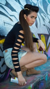 Photographer Ainsley Virdell Model Alyssa Jimenez Makeup Keith Patillo Hair Rachael Dunn